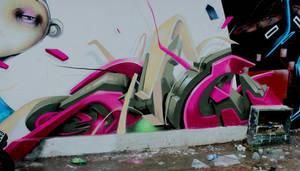 Graffiti 3d Ed-Mun by Ed-Mun