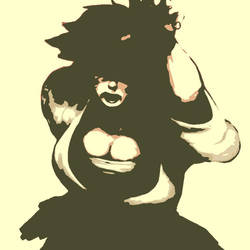 Street Fighter Makoto pop art 2 by DevintheCool