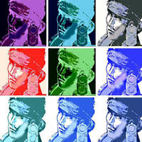 Metal Gear Solid pop art Solid Snake by DevintheCool