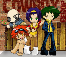 Cowboy Bebop Bunch by tachiik