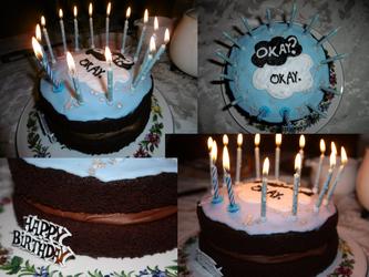 Okay? Okay CAKE by CattieClaw