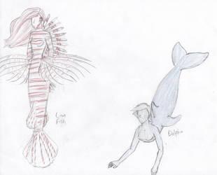 Mermaids 3 by Kerwinm12345