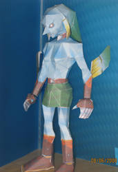 Zora Link papercraft by killero94