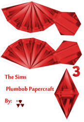 The Sims Red Plumbob by killero94