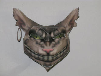 Cheshire cat's head From Alice by killero94