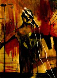 Burn My Eyes Painting by killero94