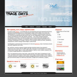 Trace Days Site by ice26
