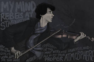 I Play the Violin When I'm Thinking by Montaneous