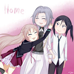 Silver Family by VAMPIRELG