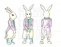 White Rabbit Rotation by lissa-quon