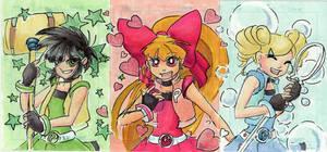 ACT - Powerpuff Girl Z by lissa-quon