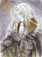 ATC-ACEO - Alucard Castlevania by lissa-quon