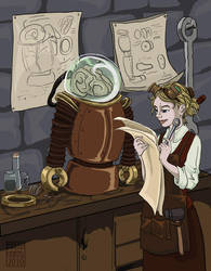 The Engineer by lissa-quon