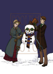 Steampunk Christmas by lissa-quon