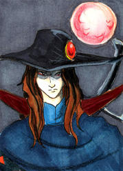 ATC ACEO Vampire Hunter D 80s by lissa-quon