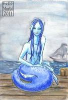 Mermaid Blue by lissa-quon