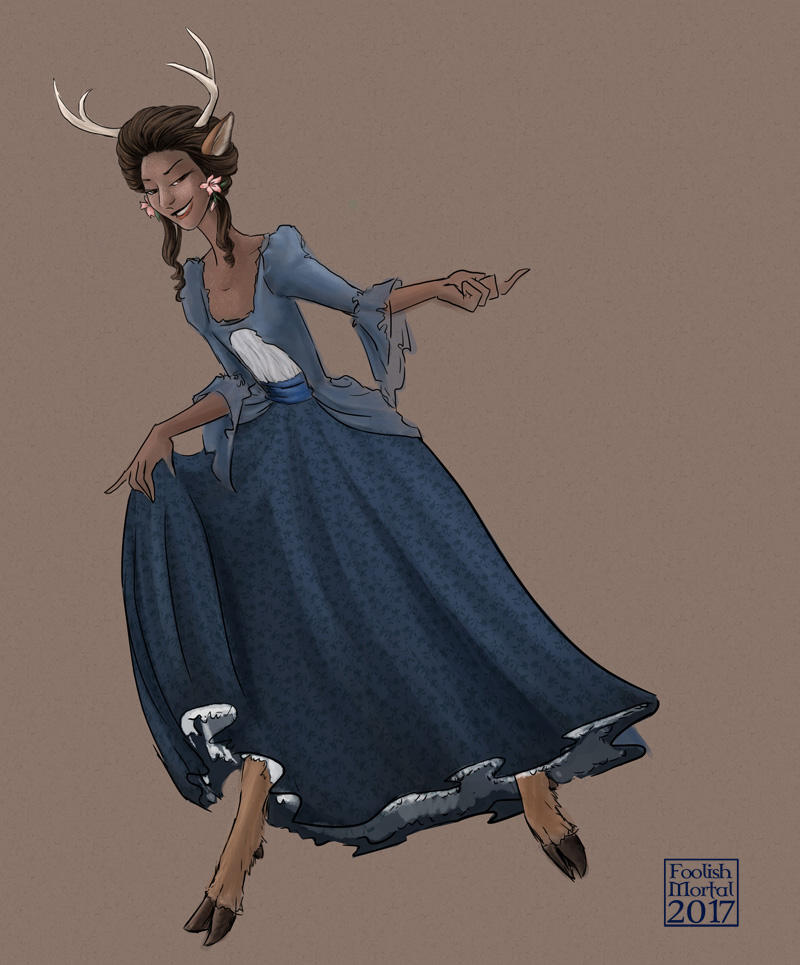 Deer Lady by lissa-quon