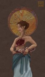 Saint Agatha by lissa-quon