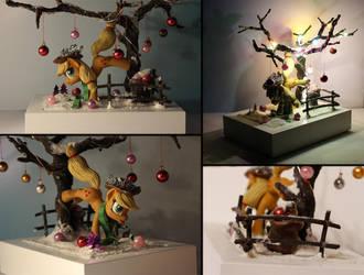 Hearth's Warming Eve Applejack by AlisteRosenheim