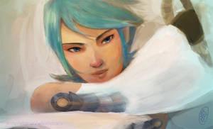 Aqua by JesterHikaru