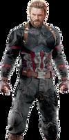 Avengers Infinity War - Captain America PNG by DavidBksAndrade