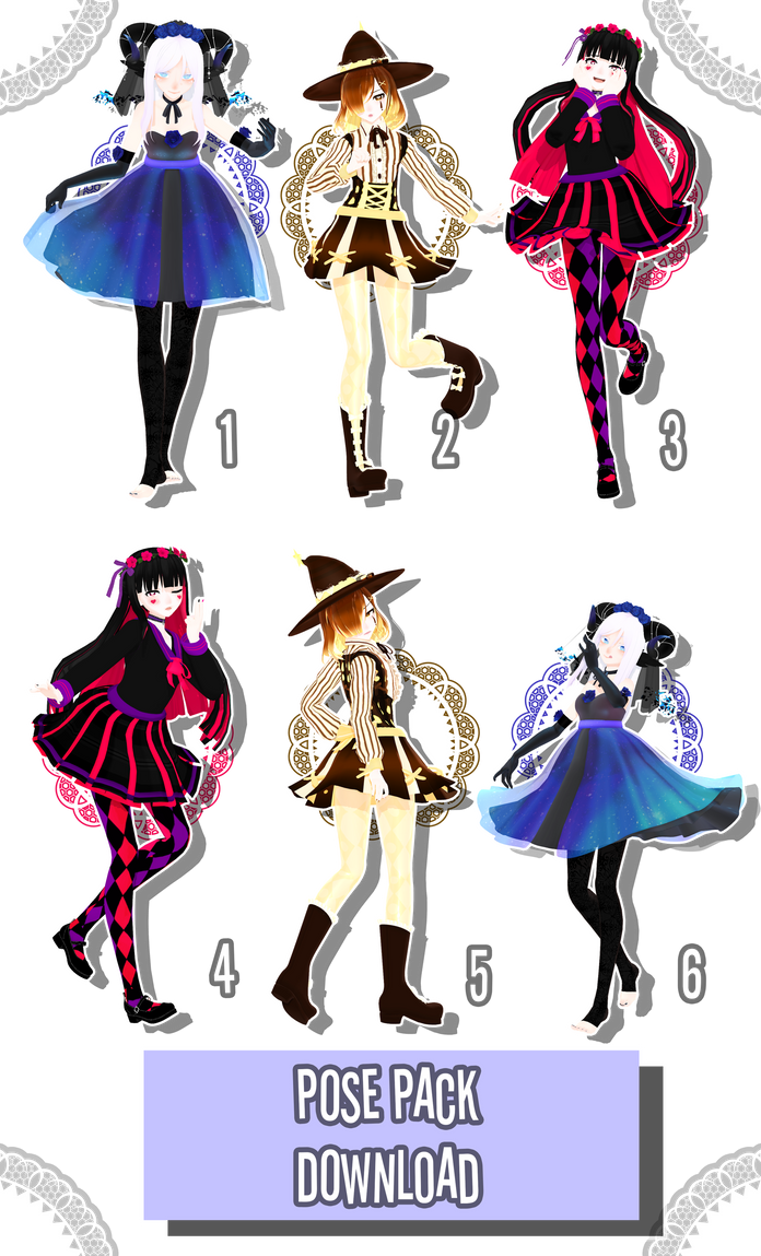 | Pose Pack | [+DL] by ChocoDia-Chan