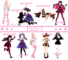 | Pose Pack 2 | [ +DL ] by ChocoDia-Chan