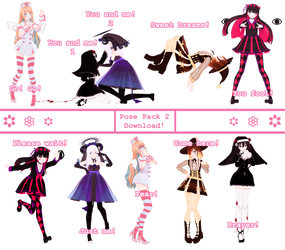   Pose Pack 2   [ +DL ] by ChocoDia-Chan