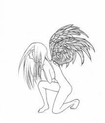 lower case angel by zedstar