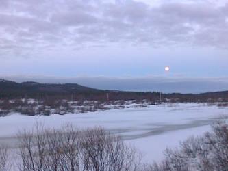 Full moon by Printti