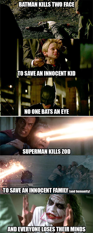 Man Of Steel Dark Knight Meme By Lamboman7 On Deviantart