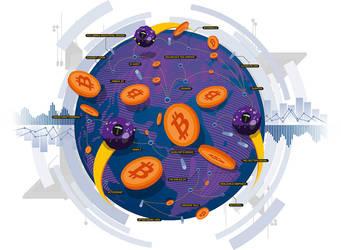 Bitcoin by SimonMiddleweek