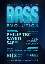 DNB Evolution 21/03/2014 flyer by 2NiNe