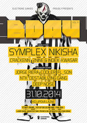 Electronic Junkies Bday 2014 by 2NiNe
