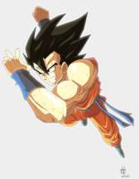 Fan art Goku dragon ball z fukkatsu no f by kakarotoo666