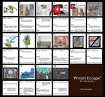 Prison Escape Storyboard by Hydromancerx