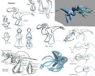 Naucean Character Sheet by Hydromancerx