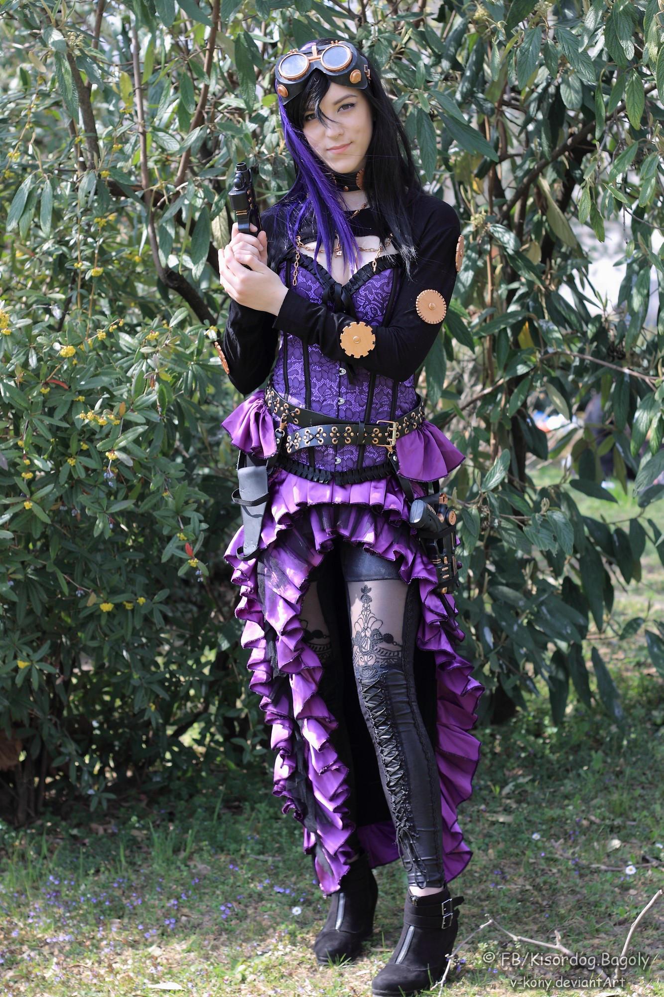 Steampunk (SR purple ) by antaale
