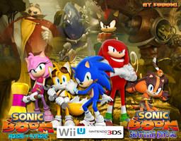 Wallpaper Sonic Boom -All Versions- by LegendQueen01