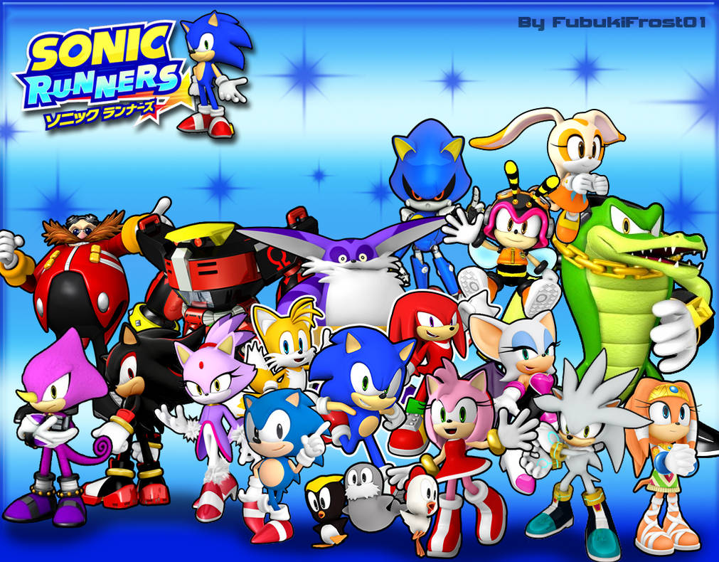 Wallpaper Sonic Runners By Legendqueen01 On Deviantart