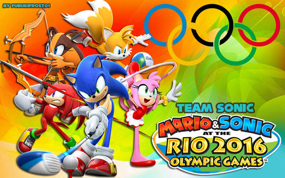 Wallpaper Mario And Sonic At Rio Olympic Games By Legendqueen01 On