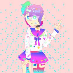 Harajuku by AnimePenguin83