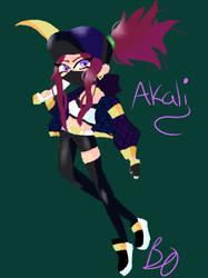 Akali by AnimePenguin83