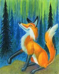 Northern Foxfire by Amberglas