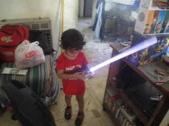 Little Jedi by racarod