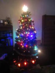 christmas tree 2018 (lights on) by racarod