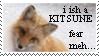 I ish a Kitsune stamp by WildTheory