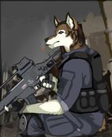Sentry Duty by WildTheory
