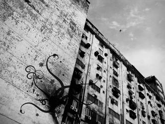 Dirty Building in TAiwan by pOpEy-tGl