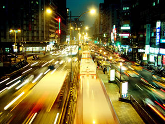 blury night by pOpEy-tGl